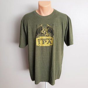 Stone Brewing Co. Runiation IPA Army Green Tee